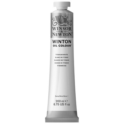 Winsor & Newton Winton Oil Color, 200ml, Titanium White