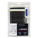 MONO DRAWING PENCIL 12PC