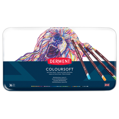 COLOURSOFT PENCIL 36 TIN