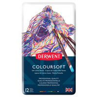 COLOURSOFT PENCIL 12 TIN