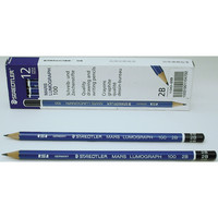 Staedtler Mars Lumograph Drawing Pencil, 2B