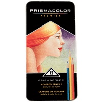 Prismacolor Premier Thick Core Colored Pencil Set, 12Colors