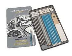 PRISMA DRAWING 18CT TIN SET