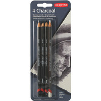 PENCIL CARDED SET CHARCOAL