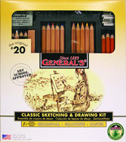 General Pencil Drawing Set No. 20