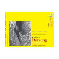 Strathmore Drawing Paper Pad, 300 Series, 25 Sheets, 9 x 12