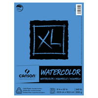Canson XL Watercolor Pad 9 x 12