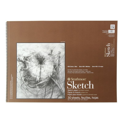 Strathmore Sketch Paper Pad 400 Series 18 x 24