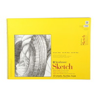Strathmore Sketch Paper Pad 300 Series SpiralBound 18 x 24