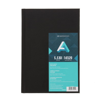 Art Alternatives HardBound Sketch Book, 5.5 x 8