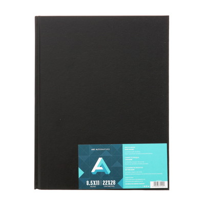 Art Alternatives HardBound Sketch Book, 8.5 x 11