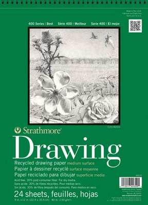 Strathmore Drawing Paper Pad, 400 Series Recycled (14 x 17)