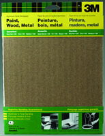 3M AllPurpose Assorted Sandpaper