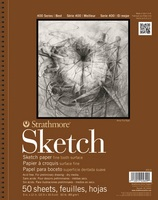 Strathmore Sketch Paper Pad, 400 Series, 50 Sheets (11 x 14)