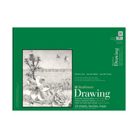 Strathmore Drawing Paper Pad, 400 Series, 18 x 24 , Recycled