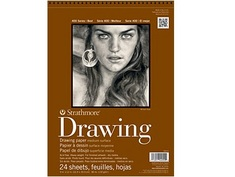 Strathmore 80# Drawing Pad, 24 Sheets, 12 x 18