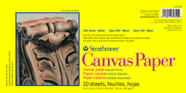 Strathmore 300 Series Canvas Paper Pads 9 x 12