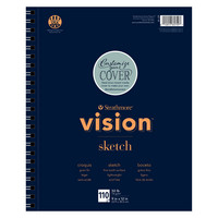 Strathmore Vision Sketch Paper Pad, 9 x 12, 110 Sheets