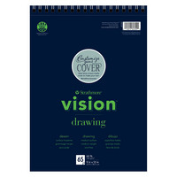 Strathmore Vision Drawing Paper Pad, 9 x 12, 65 Sheets