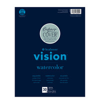 Strathmore Vision Watercolor Paper Pad, 9 x 12, 30 Sheets