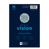 Strathmore Vision Watercolor Paper Pad 6 x 9