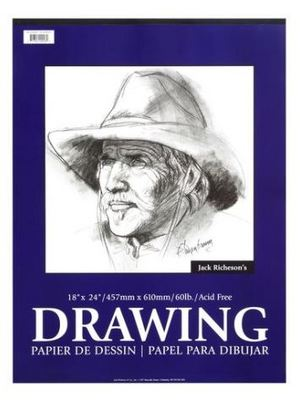 RICHESON DRAWING PAD  18X24 100 SHEETS