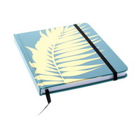LTD Journal GOLD LEAF 6X8 BLUE with lined pages