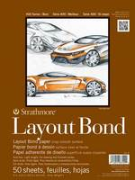 Strathmore Layout Paper Pad, 400 Series, 19 x 24
