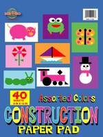 Art Construction Paper 9 X 12 Assorted Color 40 Sheets