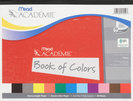 Art Construction Paper Book 9 X 12 Assorted Color 48 Sheets