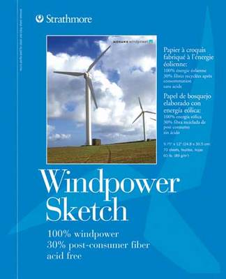 Strathmore Windpower Sketch Paper Pad (11.75 x 14)