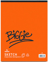 Biggie Sketch 18X24 125 Sheets
