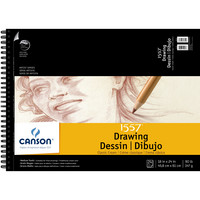 Canson Artist Series Classic Cream Drawing Pad 18 x 24