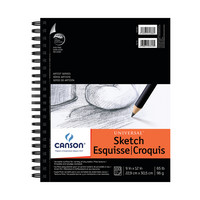 Canson Universal HeavyWeight Sketch Pad  9 x 12