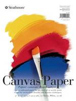 Strathmore Canvas Paper Pad, 200 Series, 9 x 12