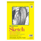 Strathmore Sketch Paper Pad, 300 Series, SpiralBound, 9 x 12