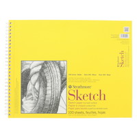 Strathmore Sketch Paper Pad 300 Series SpiralBound 14 x 17