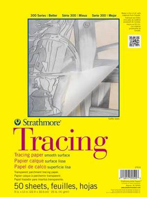 Strathmore Tracing Paper Pad, 9 x 12