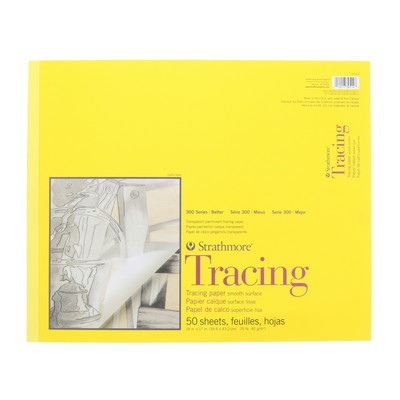 Strathmore Tracing Paper Pad, 300 Series, 14 x 17