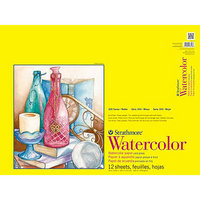 Strathmore Watercolor Paper Pad, 300 Series, 9 x 12, SpiralBound