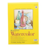Strathmore Watercolor Paper Pad, 300 Series, 11 x 15, SpiralBound