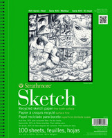 Strathmore Sketch Paper Pad 400 Series Recycled 3 x 5