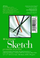 Strathmore Sketch Paper Pad, 400 Series Recycled (5 x 18)