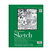 Strathmore Sketch Paper Pad 400 Series Recycled 9 x 12