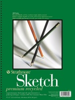Strathmore Sketch Paper Pad, 400 Series Recycled (9 x 12)
