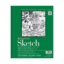 Strathmore Sketch Paper Pad, 400 Series, Recycled 9 x 12, 100 Sheets