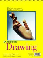 Strathmore Drawing Paper Pad, 300 Series, 25 Sheets, 18 x 24
