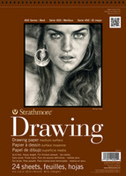 Strathmore Drawing Paper Pad, Medium Surface, 14 x 17