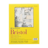 Strathmore Bristol Paper Pad, Smooth, 9 x 12