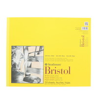 Strathmore Smooth Bristol Paper Pad, Series 300 (14 x 17)